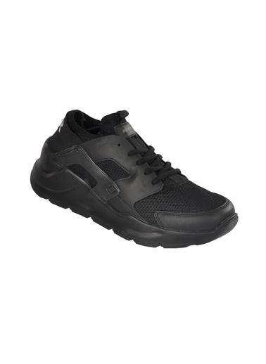 Bestof Bestof 048 Siyah-Siyah Erkek Spor Ayakkabı Siyah